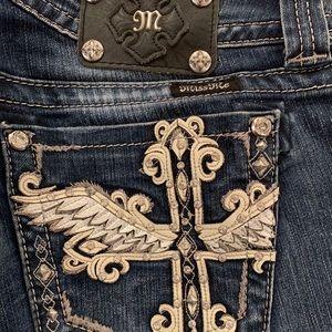 "MissMe Jeans- 31"" waist, 34"" length"